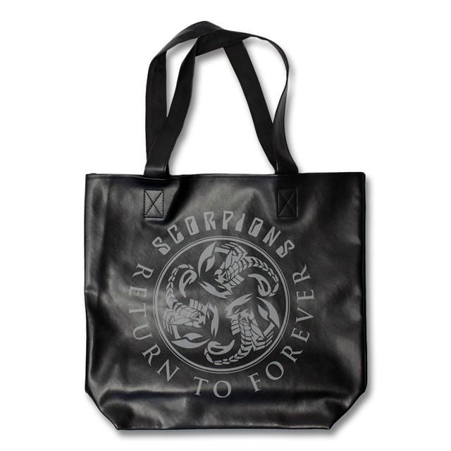 "Scorpions Return To Forever ""Leather"" Tote Bag"