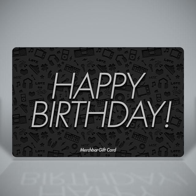 Merchbar Gift Cards Merchbar Happy Birthday Gift Card