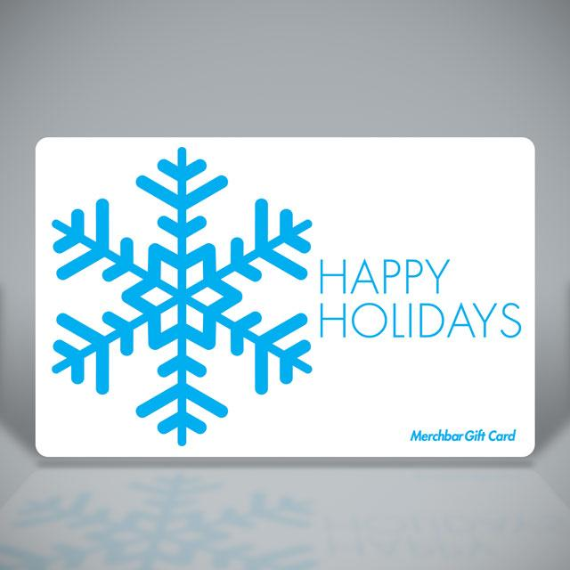 Merchbar Gift Cards Happy Holidays
