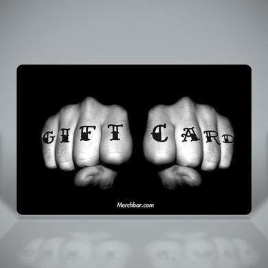 Merchbar Gift Cards Tattooed Fists Merchbar Gift Card