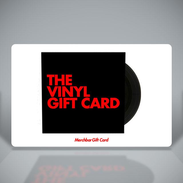 Merchbar Gift Cards The Ultimate Vinyl Gift Card