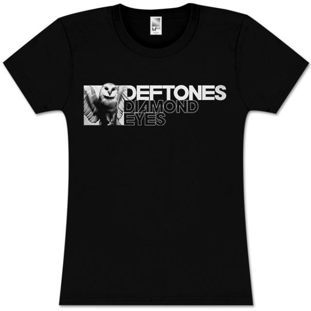 Deftones Night Owl Girlie T-Shirt