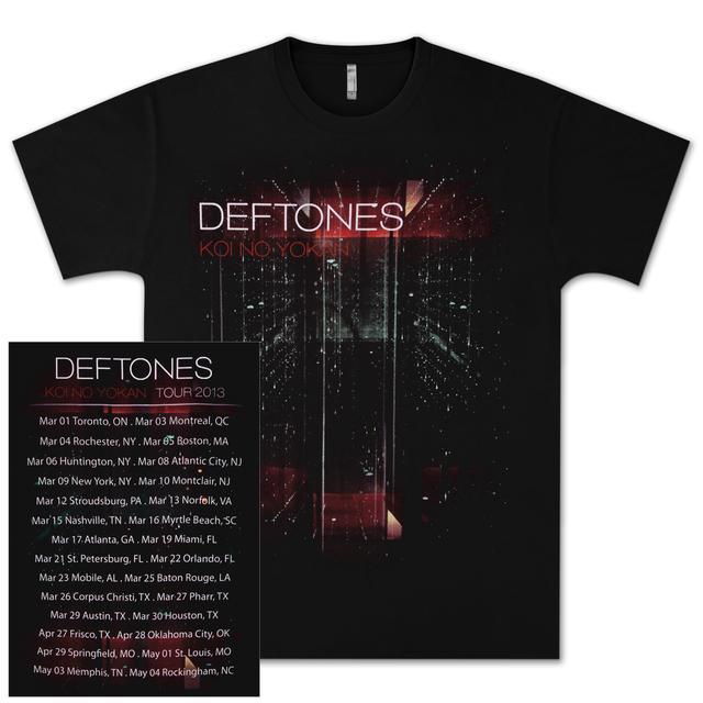 Deftones KNY Tour T-Shirt