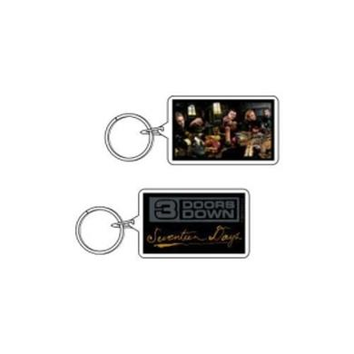 3 Doors Down  Seventeen Days Lucite Keychain