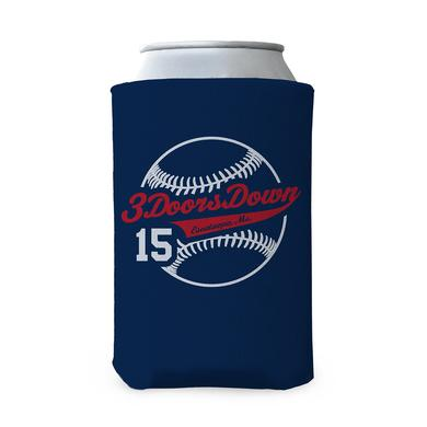 3 Doors Down 2015 Tour Baseball Coozie