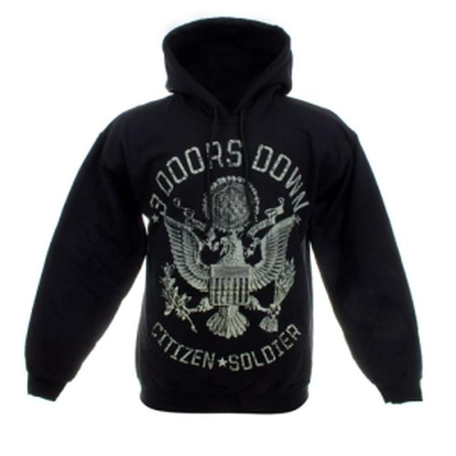 3 Doors Down Citizen Soldier Pullover Hoody