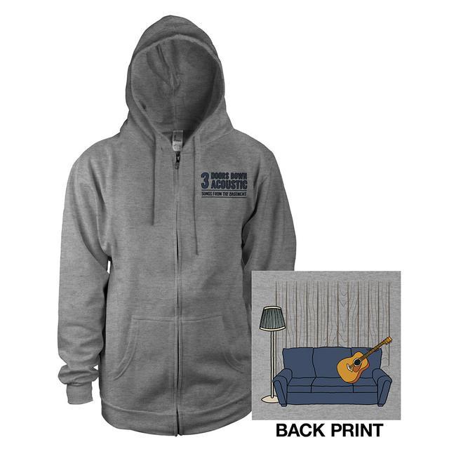3 Doors Down Acoustic Zip Hoodie