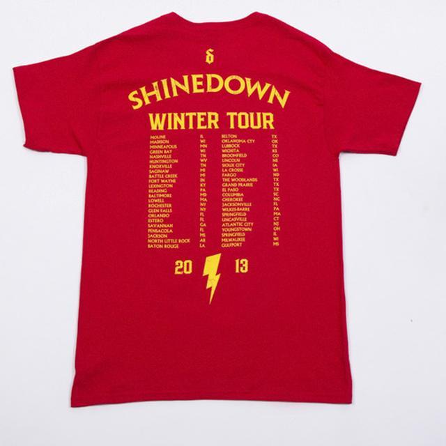 Shinedown Wing Bolt North American T-Shirt