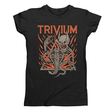Trivium Cobra Skull - Women's T-Shirt