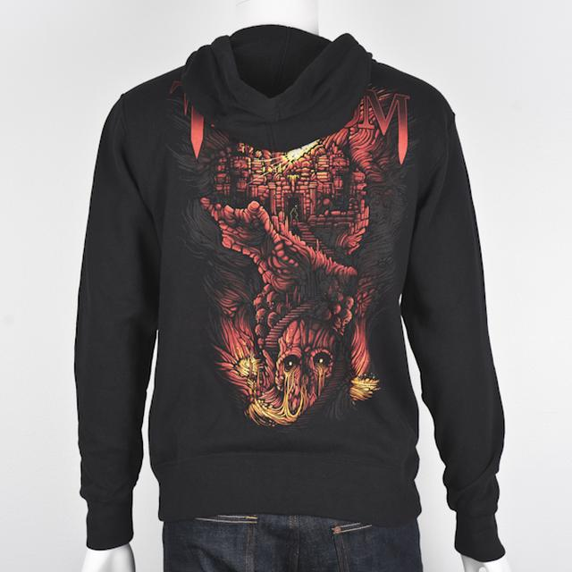 Trivium Lava Temple Hoodie: Small Only