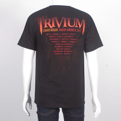 Trivium Lava Temple Spring 2012 Tour T-Shirt