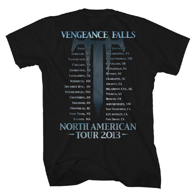 Trivium US Vengeance Tour T-Shirt