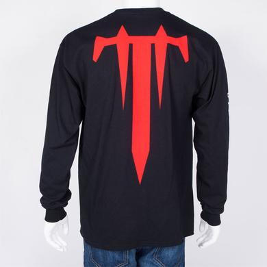Trivium Skull Stake Long Sleeve T-Shirt