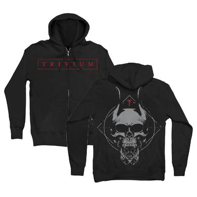 Trivium Silence In The Snow Hoodie