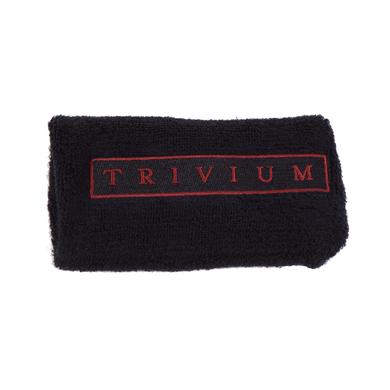 Trivium Box Logo Terry Cloth Wristband