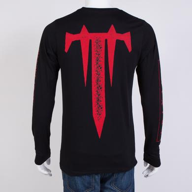 Trivium Snow Mask Long Sleeve T-Shirt
