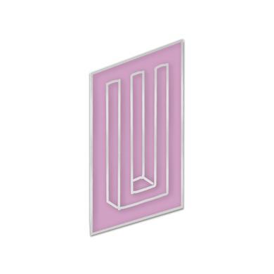 Paramore Neon Bars Enamel Pin