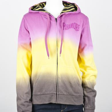 Paramore Hoodie | Tie Dyed Girls Zip Up