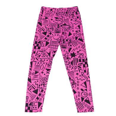 Paramore Leggings | Pink Pattern