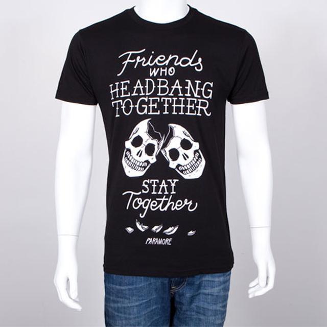Paramore T-Shirt   Head Banging Skulls