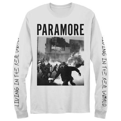 Paramore Long Sleeve T-Shirt | Smokescreen
