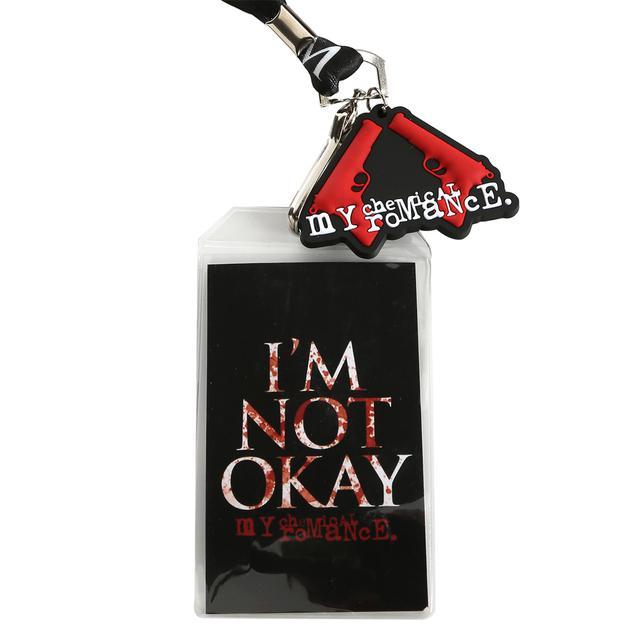 My Chemical Romance MCR I'm Not Okay Lanyard