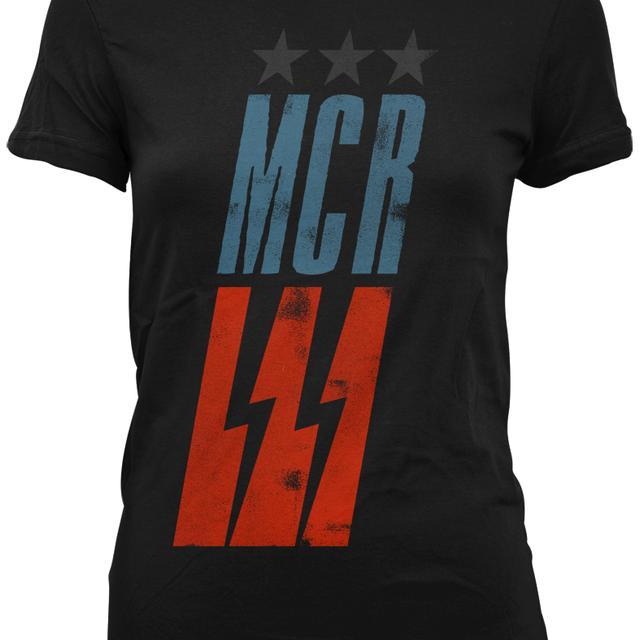 My Chemical Romance Flag Slant Jr T-Shirt
