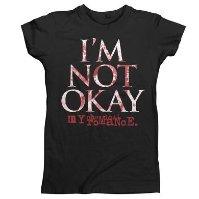 My Chemical Romance I'm Not Okay Splatter Juniors T-Shirt