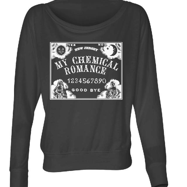 My Chemical Romance Ouija Long Sleeve Women's T-Shirt