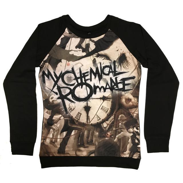 My Chemical Romance Black Parade Sublimation Women's Raglan