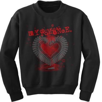 My Chemical Romance MCR Smokin Gun Crewneck Sweatshirt