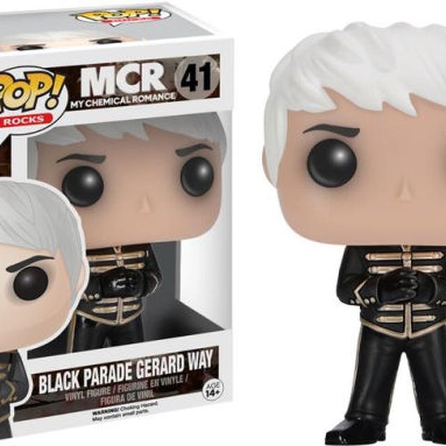 My Chemical Romance Funko MCR: POP! Rocks Black Parade Gerard Funko Doll
