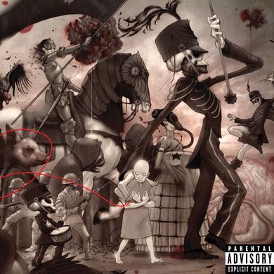 My Chemical Romance The Black Parade Vinyl (Explicit) (2LP w/ D-Side Etching)