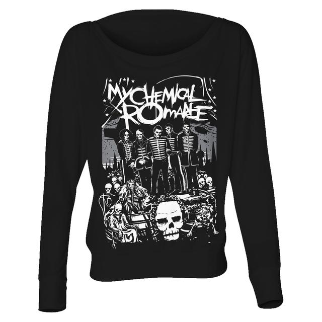 My Chemical Romance Skeleton Parade Long Sleeve Women's T-shirt