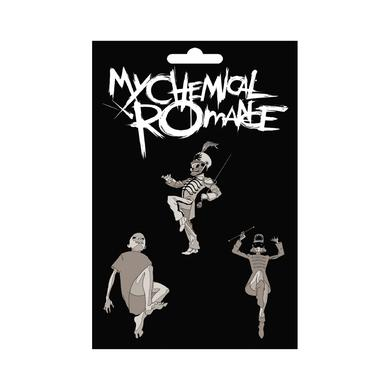My Chemical Romance Black Parade Enamel Pin Set