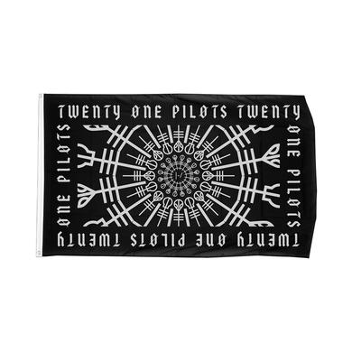 Twenty One Pilots Worldwide Clique Flag