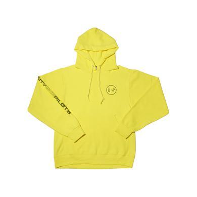 1bbf4c76fab Embroidered Logo Hoodie (Yellow). Harvard Law School Applique Hooded  Sweatshirt