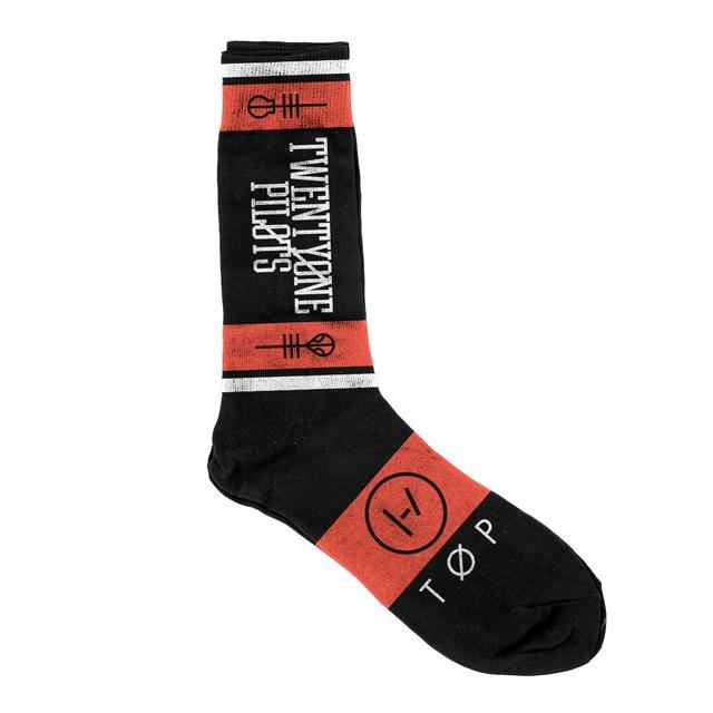 Twenty One Pilots Logo Socks