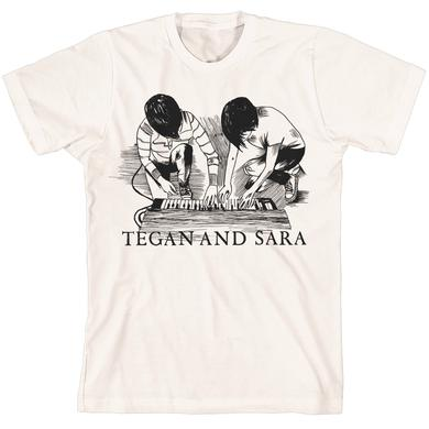 Tegan & Sara Keyboard T-Shirt