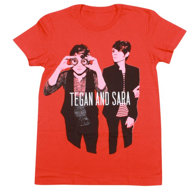 Tegan & Sara Goggles Ladies' T-Shirt