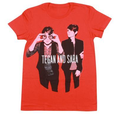 Tegan & Sara Goggles Ladies' T-Shirt