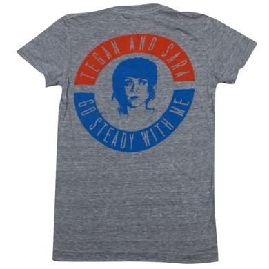 Tegan & Sara Go Steady Ladies' T-Shirt