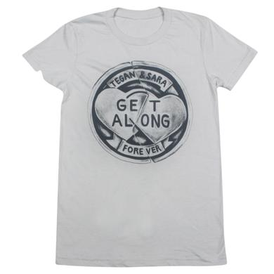 Tegan & Sara Friendship Coin Ladies' T-Shirt