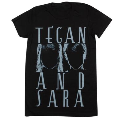 Tegan & Sara Silhouettes Ladies' T-Shirt