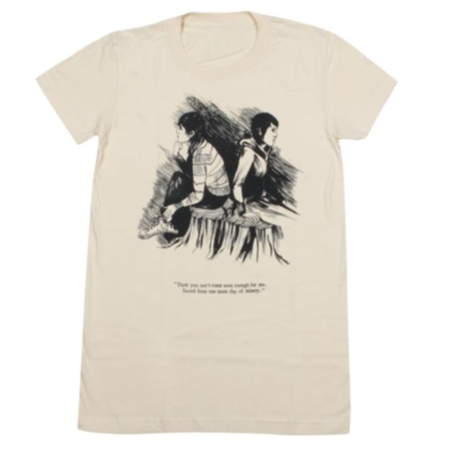 Tegan & Sara Sketch Ladies' T-Shirt