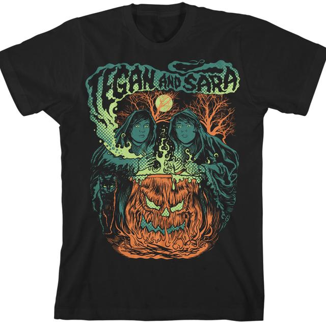 Tegan & Sara Halloween 2012 T-Shirt