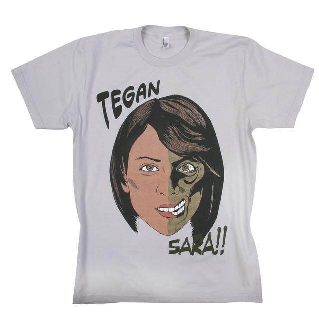 Tegan & Sara Two Face T-Shirt