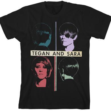 Tegan & Sara Quadrants Unisex T-Shirt