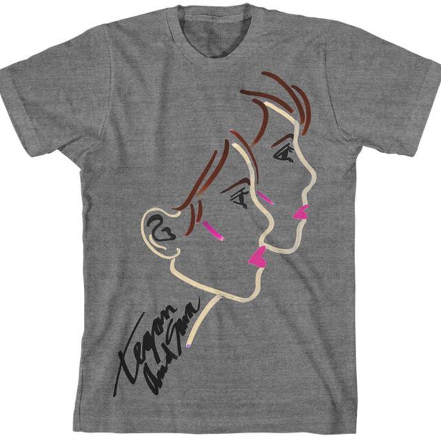 Tegan & Sara Lipstick Unisex T-Shirt