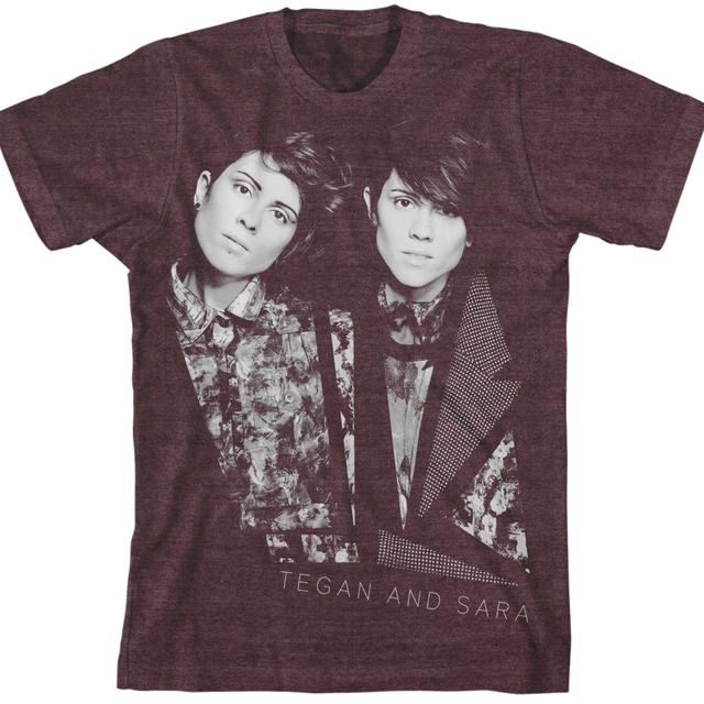 Tegan & Sara Floral Faces Unisex T-Shirt